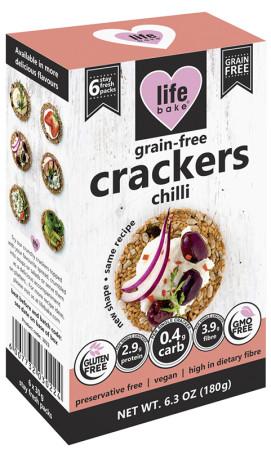 Life Bake - Grain-Free Crackers Chilli