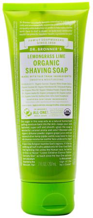 Dr. Bronner's Lemongrass Lime Shaving Soap